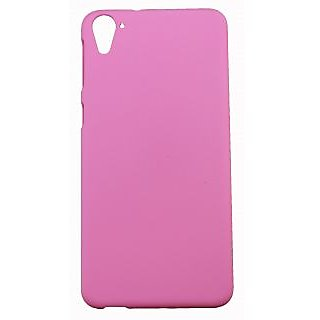 FCS Ruberrised Hard Back Case Cover For Htc Desire 826 In Matte Finish-Light Pink
