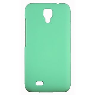 FCS Rubberised Hard Back Case Cover For Gionee Pioneer P2S In Matte Finish.-Green