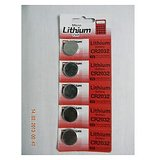 Battery LINTHIUM CR2032 3V Button  Set Of 5 Pcs