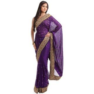 Women's Chiffon Designer Sarees