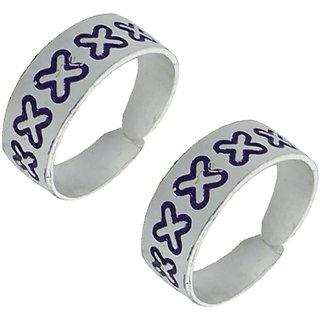 Designer YouBella  Silver  Toe Ring For Women