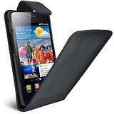 Flip Case Cover Black For Samsung Galaxy S Ii Gt I9100