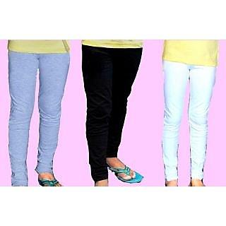 Junior Girls Legging 3 Pcs Pack -4/5Yrs