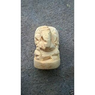 Asli Carved Shwetarka Ganesha / Shvetark Ganpati / Madar Ganesh Ji