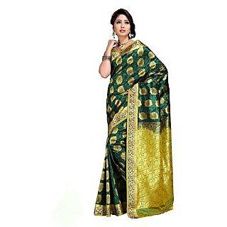 Indian Designer Party Wear Fancy Kanjiwaram Silk Sarees