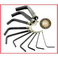 10 Pcs Hex Key Set most commonly used Hex Keys wrench type