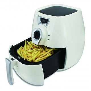 HomePro ze-002 Low Fat Electric Tandoor Multi cooker Oil Free Air Fryer 2.2 Liter White