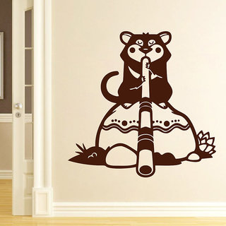 Decor Kafe Tasmanian Wall Decal 30x30 Inch available at ShopClues for Rs.329