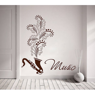 Decor Kafe Music Wall Decal 30x30 Inch available at ShopClues for Rs.329