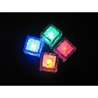 Led Ice Cube, Magic Ice Cubes - Set Of 4 Pcs