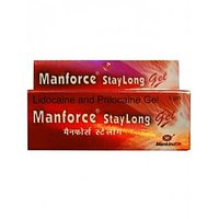 Manforce Extra Dotted Choclate Condoms (3'S) + Stay Long Gel Combo (1)