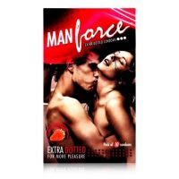 Manforce Extra Dotted Strawberry Condoms Monthly Combo(10'S X 3)