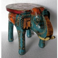 Elephant Stool Made Of Wood
