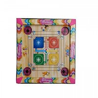 Carrom board with Ludo  Snakes(17 Inch)