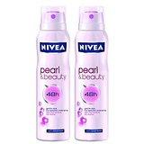 Nivea  Pearl Beauty Pack Of 2 Deo 150ml Each (Women)
