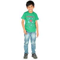 Perky Lavish Gama Green Tshirt
