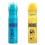 Engage Deo (Spell, Tease) Pack Of 2- 165ml Each( For Women)