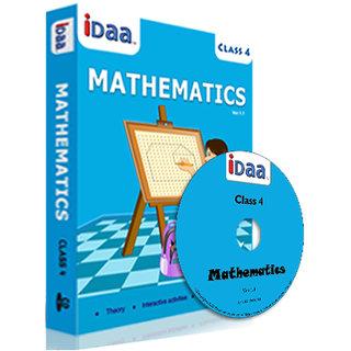 iDaa Class 4 CBSE Mathematics CD