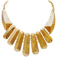 Urthn Fancy Yellow Necklace Set - 1102563