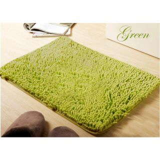 ShopClues: Beautiful Chenille Shaggy Cotton Bathmat @128