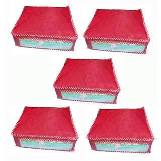 Pack Of 5 Pcss Multipurpose Saree Cover