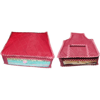 Combo deal-Multipurpose 1Pcs Saree Cover And 1Pcs Blouse Cover