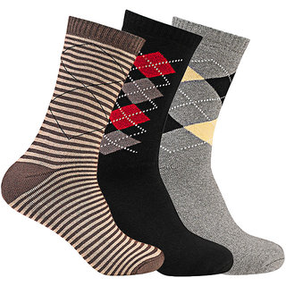 Supersox Mens Pack Of 3 Sports Terry Combed Cotton Socks (MTCD0059)
