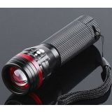 Zoomable 3 Mode Led Flashlight Torch 200 Lumen New