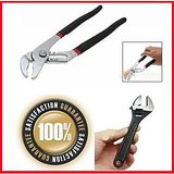 10Inch Adjustable Spanner Wrench & Cobra Water Pump Pliers Hand Tool Origina