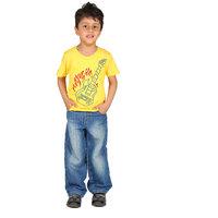 Perky Music Yellow Tshirt