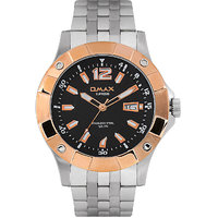 Omax Stainless Steel Men Watch (SS364)