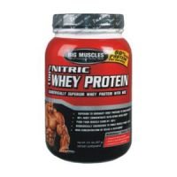 Big Muscle Nitric Whey Protein (5Lbs)