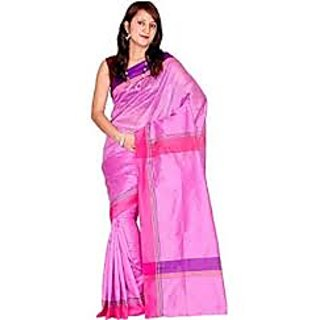 Chandrakala Cotton Silk Pink Saree