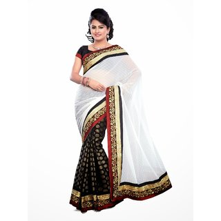 Snappy Bollywood Saree, Designer Saree, Facny Saree