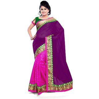 Statuesque Bollywood Saree, Designer Saree, Facny Saree