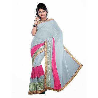 Ritzy Bollywood Repalicas 60gm Net Saree
