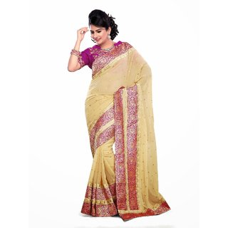Upscale Sridevi Indian Ethnic Bollywood Saree, Fancy Stylish Designer Saree