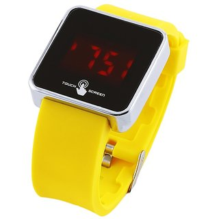 Coal Touch Screen Digital Rubber Watch - Kids