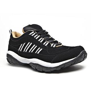 Foot n Style Mens Black Shoes