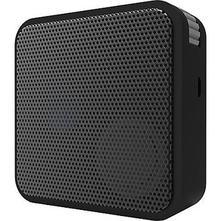 Portronics Cube shape BT Portable Bluetooth Speaker - Black