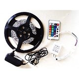 LED Strip Light In Multicolour (Red,Green,Blue) With Remote & Adaptor