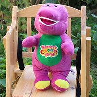 Barney Battery Operated Walking And Talking Soft Toy