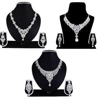 Atasi International Prima Combo Nacklace Alloy Jewel Set