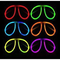 Neon Glow Eyeglass, Earring, Finger Ring - Perfect Gift For This New Year Party