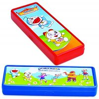 Doraemon 2D Pencil Box - Red For Kids By Buddyz