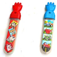 Magic Hand Pencil Box - Blue & Red For Kids By Buddyz