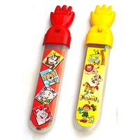 Magic Hand Pencil Box - Red & Yellow For Kids By Buddyz