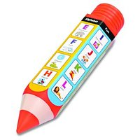 Pencil-Shaped Pencil Box - A To Z For Kids By Buddyz