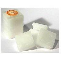 4 Pcs Camphor / Kapoor Blocks (Size: 1 Inch X 1 Inch) - Premium Quality, Refined