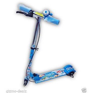 Doraemon Blue Kids Super Byke Scooter
